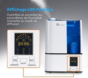 Test humidificateur d'air Taotronics
