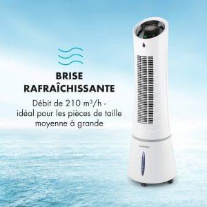 Klarstein Skyscraper Ice Summer Edition • Refroidisseur 4-en-1 • Ventilateur