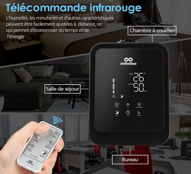 Test avis humidificateur d'air Infinitoo