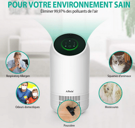 test avis purificateur d'air Afloia